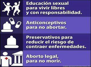Aborto legal y Educación Sexual
