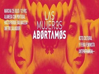 convocatoria marcha aborto libre chile