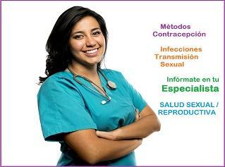 Infórmate en tu especialista de métodos anticonceptivos y de ITS