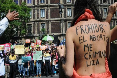 Guerra antiaborto en ciudad de México