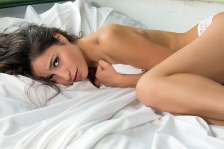 Mujer con frigidez